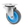 Roulette à platine – 200 à 400 kg - à platine pivotante, 31, 200, 100, 132, 34, 105x80, 8.5, à billes, 80x60