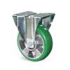 Roulette à platine – De 180 à 350 kg - à platine fixe, 50, 350, 125, 163, Roulette à platine acier, 135x115, 11, à billes, 105x80
