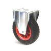 Roulette à platine – 100 kg - à platine fixe, 75, 100, 260, 311, Roulette à platine acier, 175x145, 11, à rouleaux, 140x105