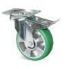 Roulette à platine – De 180 à 350 kg - à platine pivotante à double blocage, 40, 180, 80, 108, 41, 105x85, 9, à billes, 80x60