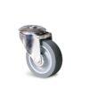 Roulette à trou central – 70 à 100 kg - à trou central pivotante, 32, 70, 80, 108, 41, 12.5, à rouleaux