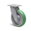 Roulette à platine – 500 à 750 kg - à platine pivotante, 50, 550, 160, 205, 60, 138x110, 11, à billes, 105x80