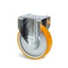 Roulette à platine – 500 à 800 kg - à platine fixe, 50, 500, 125, 164, Roulette à platine acier, 135x115, 11, à billes, 105x80