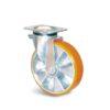 Roulette à platine – 400 kg - à platine pivotante, 50, 400, 100, 140, 45, 135x110, 11, à billes, 105x80