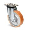 Roulette à platine – 1000 kg - à platine pivotante, 50, 1000, 200, 250, 60, 135x110, 11, à billes, 105x80