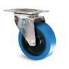 Roulette à platine – 150 à 300 kg - à platine pivotante, 48, 300, 200, 240, 48, 129x106, 11, 105x80, à rouleaux