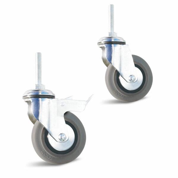 Roulette à trou central – 70 à 90 kg