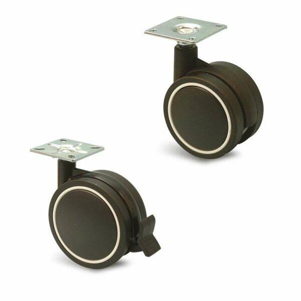 Roulette à platine – Jemedesign PL Noir