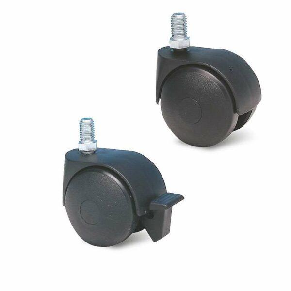 Roulette à tige filetée – 20 à 60 kg