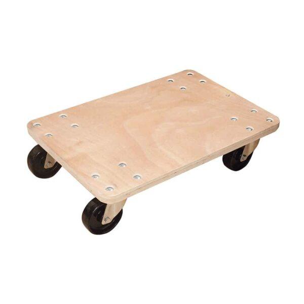 Plateau roulant bois - Charge 300 kg