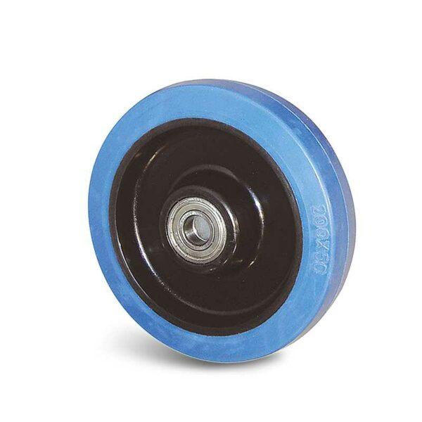 Roue caoutchouc élastique – 100 à 300 kg
