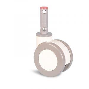 Roulette à tige à blocage – 120 kg
