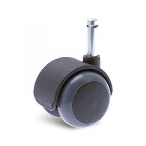 Roulette à platine – Twiny Poly PL Gris